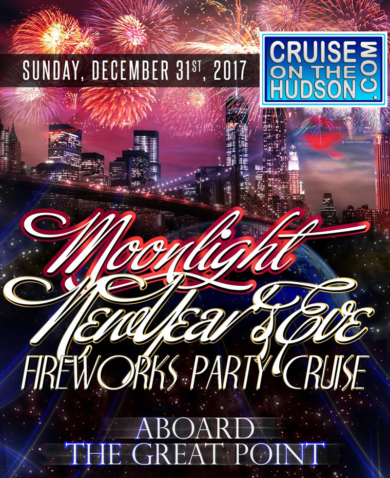 Great Point Yacht NYC New Years Eve New York NYE 2017 Pier 15 NYC South Street Seaport NYE New Years Eve On The Water NYC
