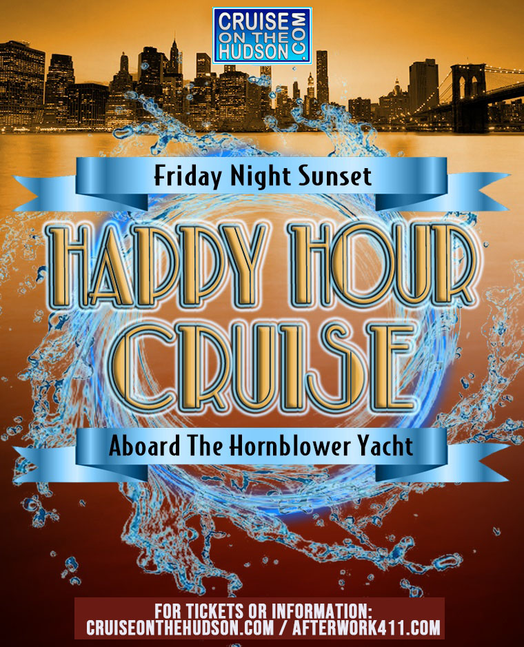 Friday Dance Cruise at Pier 40 NYC Flyer