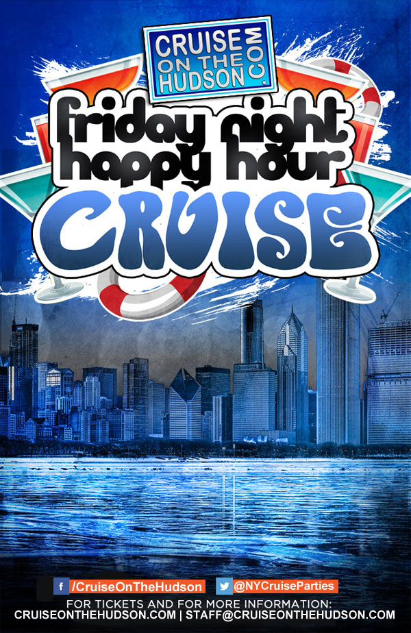 Friday Dance Cruise at Skyport Marina NYC Flyer