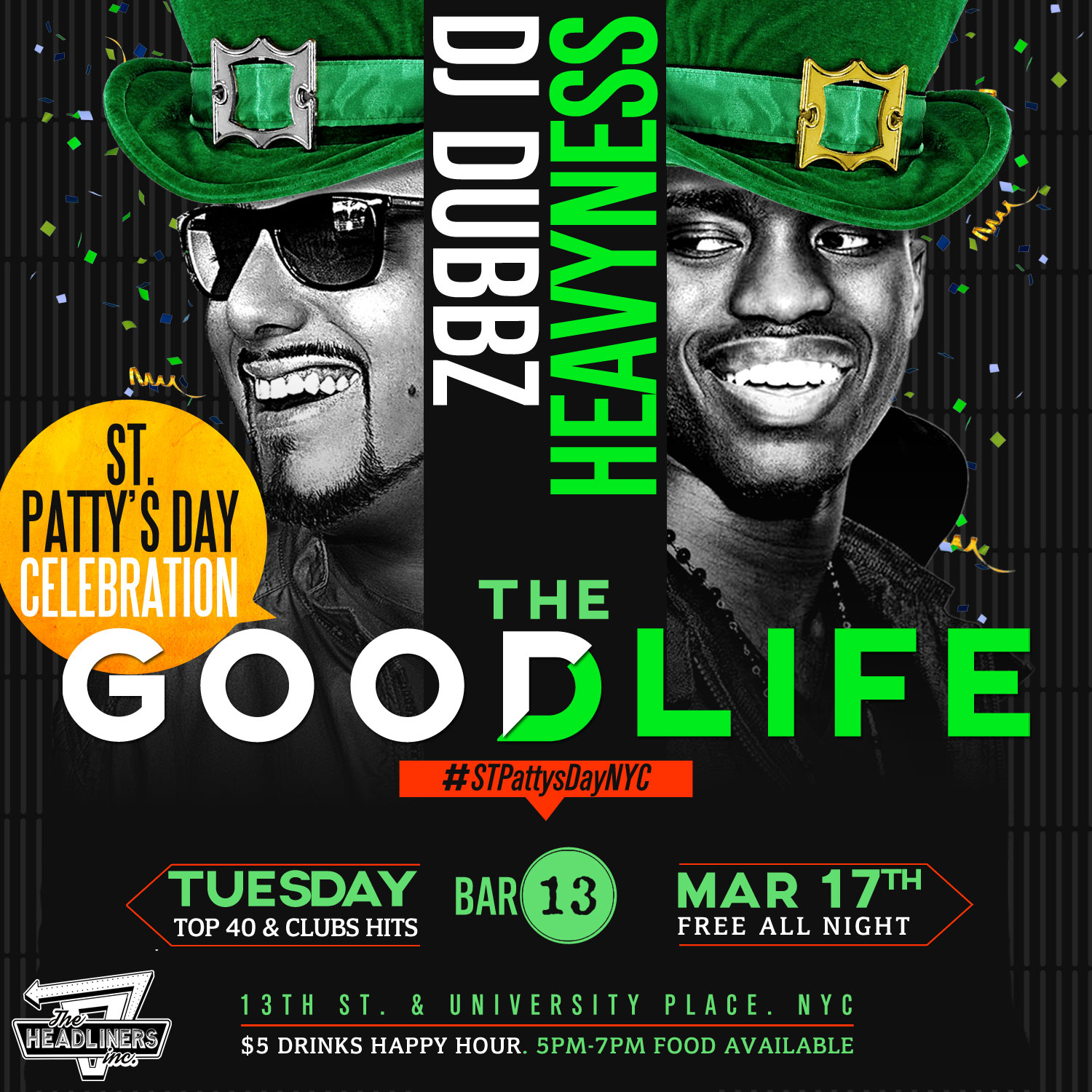 St Patrick Day NYC After Work Events