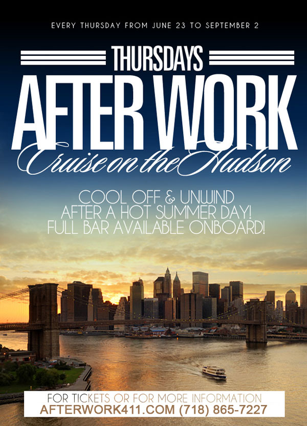 Thursday After work Cruise at Skyport Marina Flyer