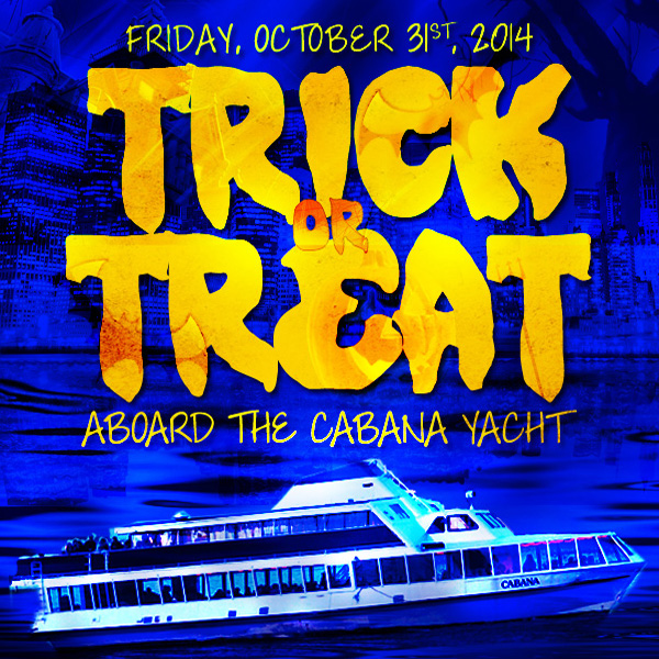 NYC After Work Halloween Cruise NYC at Skyport Marina Halloween NYC Flyer