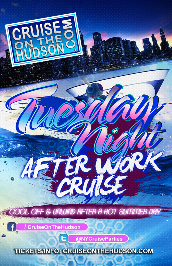 NYC Afterwork Cruise at the Skyport Marina NYC Stress Free Tuesday After Work Cruise NYC