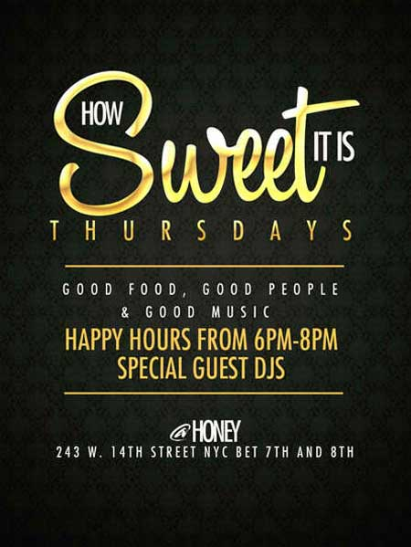Honey Nyc Lounge Nyc After Work Thursday Bar