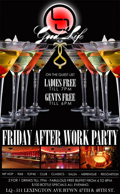 Lq Nightclub Nyc Latin Quater New York Afterwork Friday
